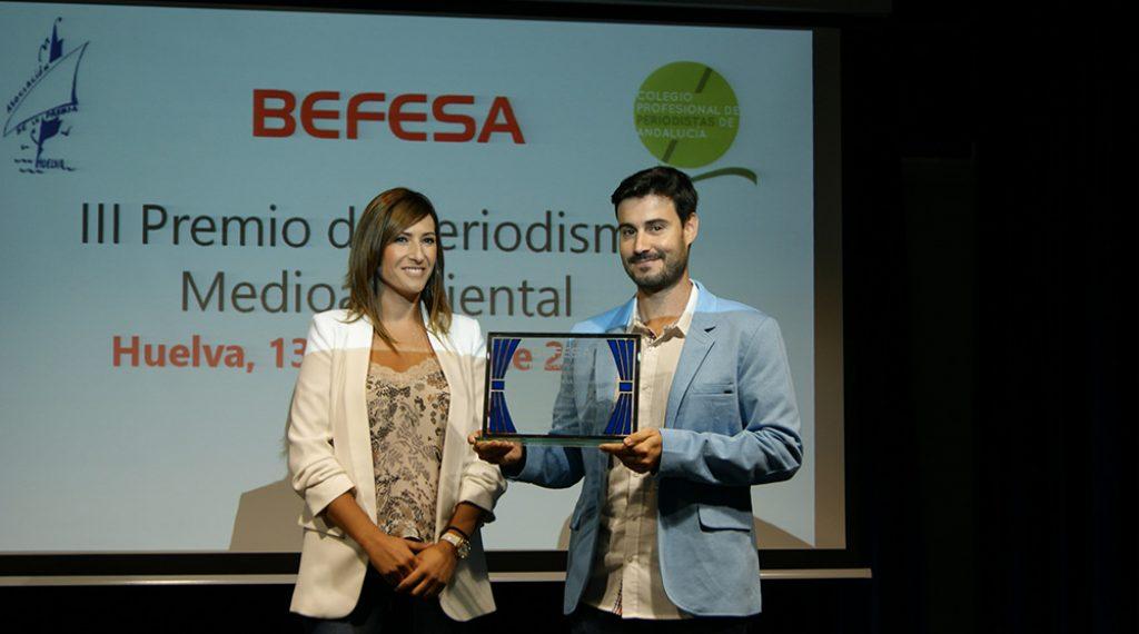 Premio Periodismo Medioambiental Befesa